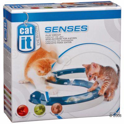 Catit Design Senses Spielschiene inkl. Ball - Beleuchtete Ersatzbälle 2 Stück