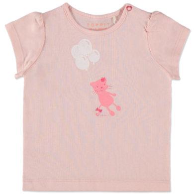 Esprit Girls T-Shirt Cat nude - rosa/pink - Mädchen