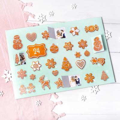 Foto-Adventskalender Kekse