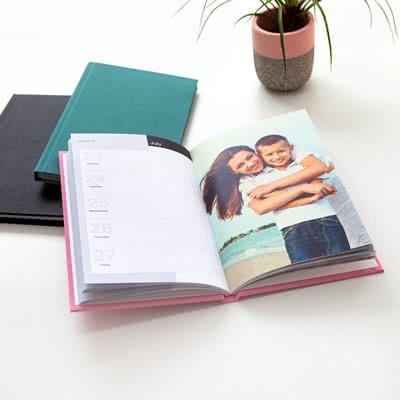 Foto-Agenda Deluxe Pink