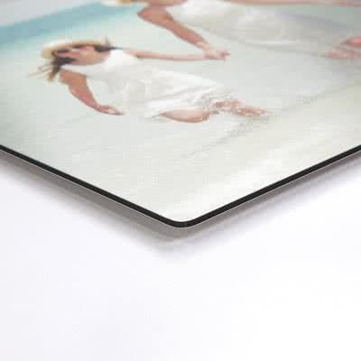 Foto auf Aluplatte gebürstet 40 x 40 cm