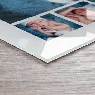 Foto hinter Acrylglas 60 x 60 cm