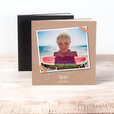 Fotobuch XL Quadrat - Hardcover mit Foto