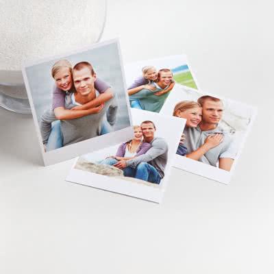 Fotos auf Fotokarton