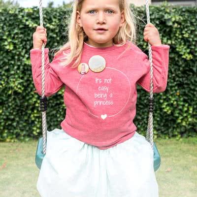 Kinder Sweatshirt mit Foto Cranberry 9 bis 11 Jahre