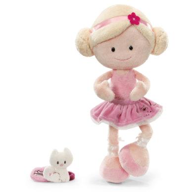 NICI Wonderland Puppe MiniClara 30 cm Schlenker Plüsch mit Handtasche 36848-150