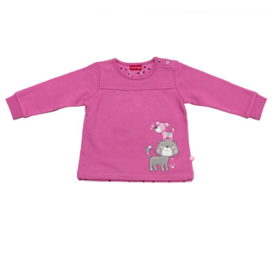 SALT AND PEPPER Girls Sweatshirt Katze Hund crocus