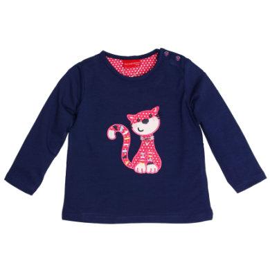 SALT AND PEPPER Langarmshirt Girls Funny Katze navy blue