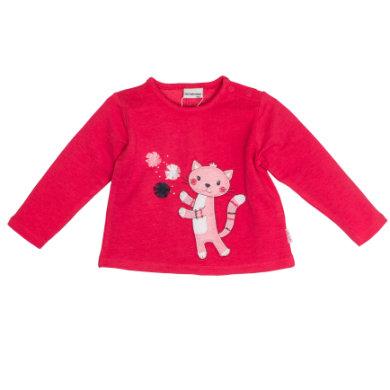 Salt and Pepper Girls Sweatshirt Mon Amie Katze paradise pink - rosa/pink - Gr.68 - Mädchen