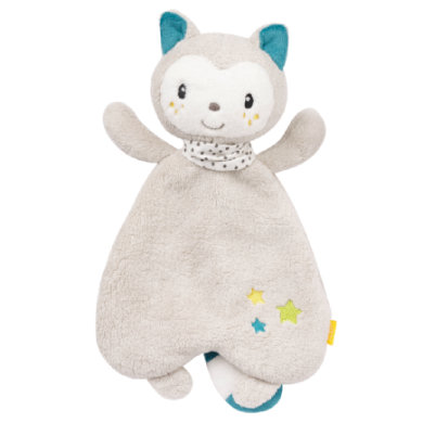 fehn ® Aiko & Yuki Schmusetuch Katze - grau