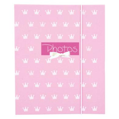 goldbuch Leporello für 10 Fotos - Kleine Prinzessin - rosa/pink