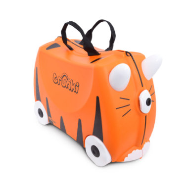 trunki Kinderkoffer - Tiger Tipu - orange