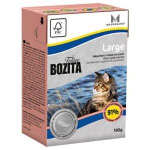 2 kg Trockenfutter + 6 x 190 g Nassfutter Bozita Feline Mischpaket - Weizenfrei Large