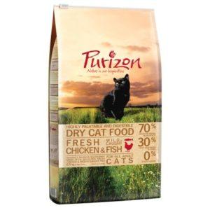 5,5 kg + 1 kg gratis! 6,5 kg Purizon getreidefreies Katzentrockenfutter - Adult Fisch