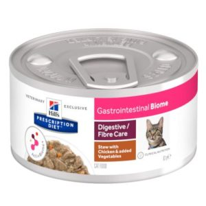 Hill's Prescription Diet Feline Gastrointestinal Biome Ragout für Katzen - 48 x 82 g