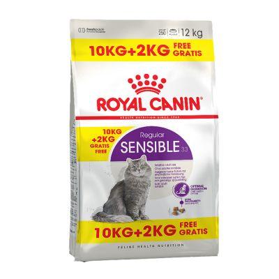 Royal Canin Feline Katzenfutter im Bonusbag - Indoor 27 (10 kg + 2 kg)