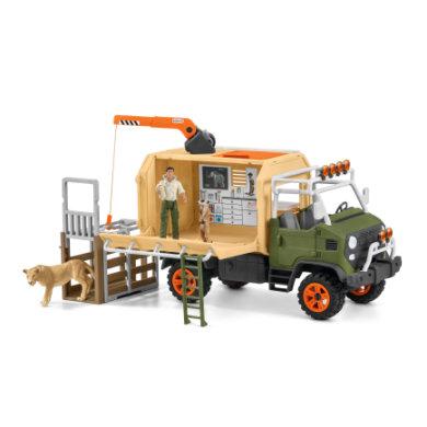 Schleich Großer Truck Tierrettung 42475