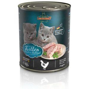 Sparpaket Leonardo All Meat 24 x 800 g - Kitten Geflügel