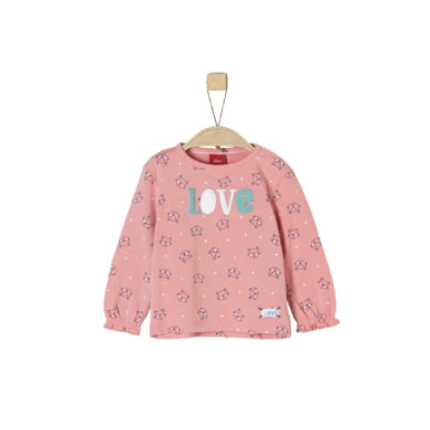s.Oliver Girls Langarmshirt dusty pink