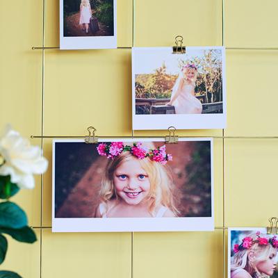 Fotos auf Fotokarton Hochformat - 15er Set