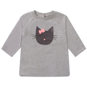 STACCATO Girls Sweatshirt soft stone melange