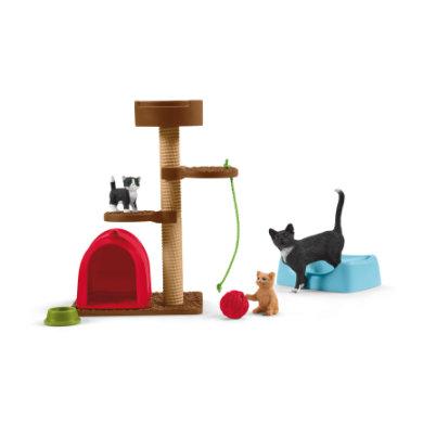 Schleich Spielspaß für niedliche Katzen 42501