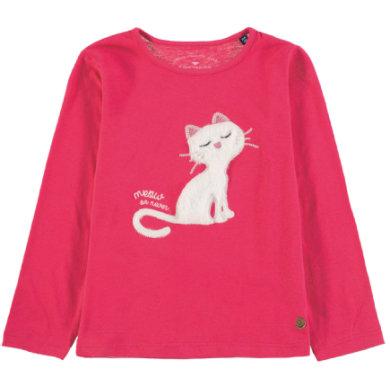 TOM TAILOR Girls Langarmshirt, pink