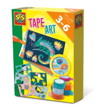 SES Creative® Tape Art Tiere
