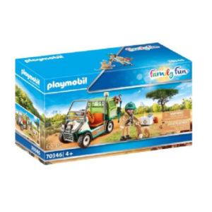 PLAYMOBIL® Family Fun Zoo-Tierarzt mit Fahrzeug 70346