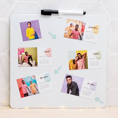 Foto-Magnetkalender