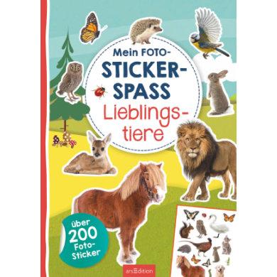 arsEdition Mein Foto-Stickerspaß - Lieblingstiere