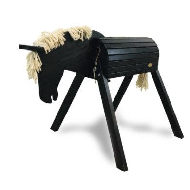 Helga Kreft Gartenpferd Blacky, schwarz Sonderedition - limitiert