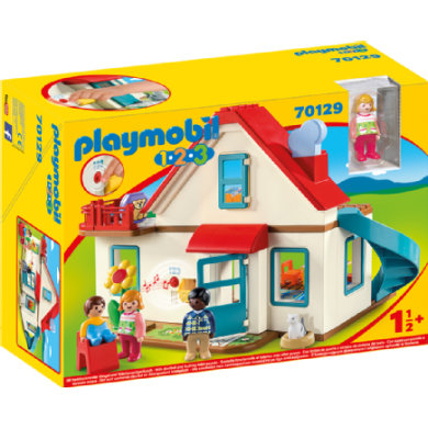 PLAYMOBIL® 1 2 3 Einfamilienhaus 70129