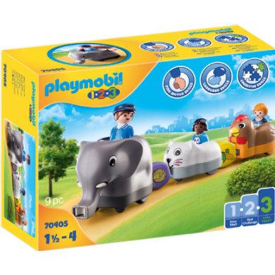 PLAYMOBIL® 1 2 3 Mein Schiebetierzug