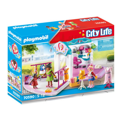 PLAYMOBIL® City Life Fashion Design Studio 70590