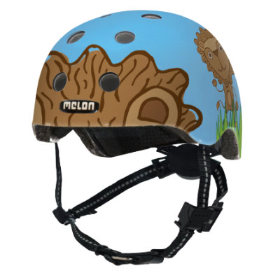 Melon® Toddler Helm Design Leo - Gr. XXS, 44-50 cm