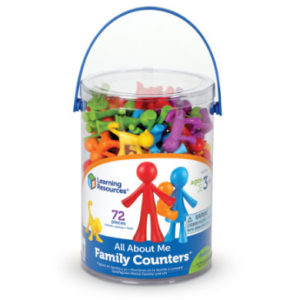 Learning Resources® All about me - Spielfiguren Familie 72 Teile