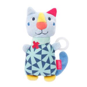 fehn® Schnullertier Katze COLOR Friends