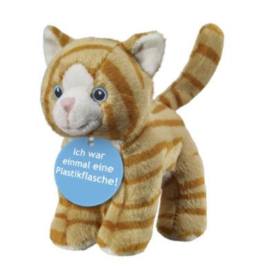 ECO-Line Plüschtier Katze getigert 15cm
