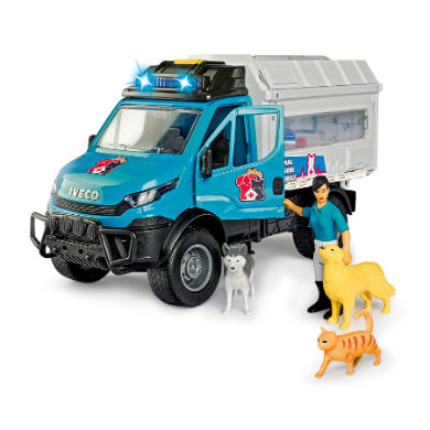 DICKIE Animal Rescue Set - Mobile Tierarztpraxis, Try Me